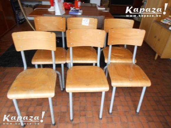 Industriele retro stoelen (40 stuks), Stoelen, Heusden-Zolder | Kapaza.be