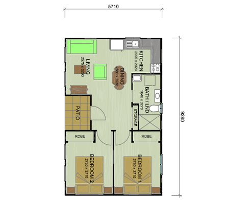 32 best images about granny flats on pinterest double for 2 bedroom granny flat plans