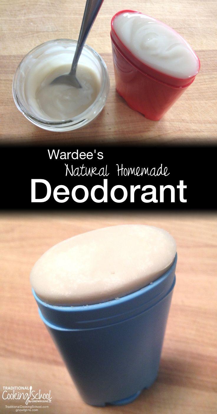 Wardee's Natural Homemade Deodorant | DIY deodorant recipes... it often takes…