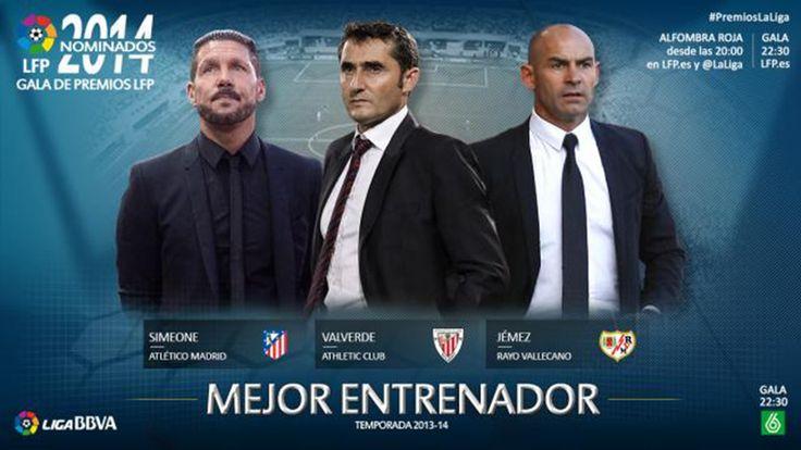 dinominasikan untuk 'Pelatih Terbaik di 2013/14 Liga BBVA' Penghargaan yang akan disajikan di '2014 Awards Ceremony' pada 27 Oktober.http://bolamax.com/nominasi-untuk-pelatih-terbaik-musim-201314-di-liga-bbva/