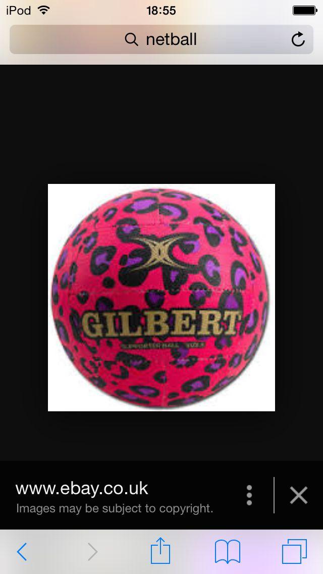 Love netball love leopard print