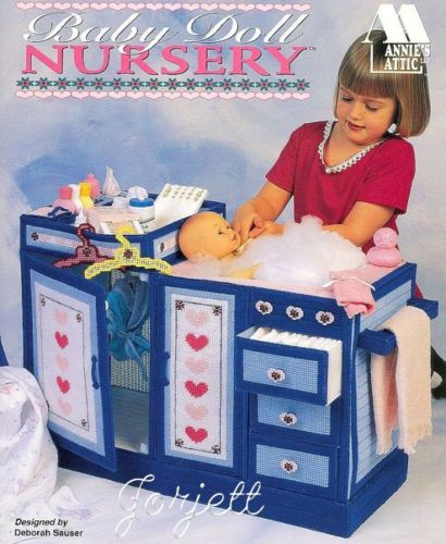 Baby Doll Nursery Annie S Plastic Canvas Patterns Oop Rare Pattern Wish List Pinterest And