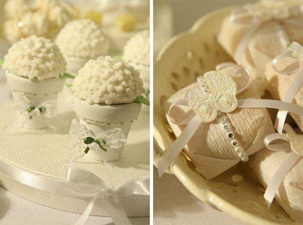Chá de bebê branco | Casamenteiras