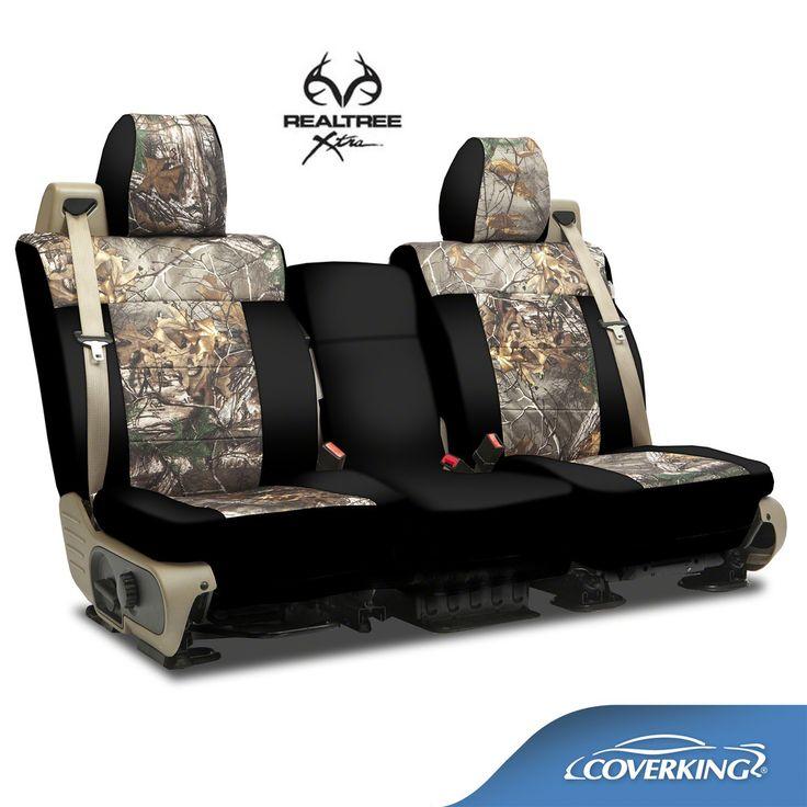 Coverking Real Tree Camo Seat Covers Chevrolet Silverado