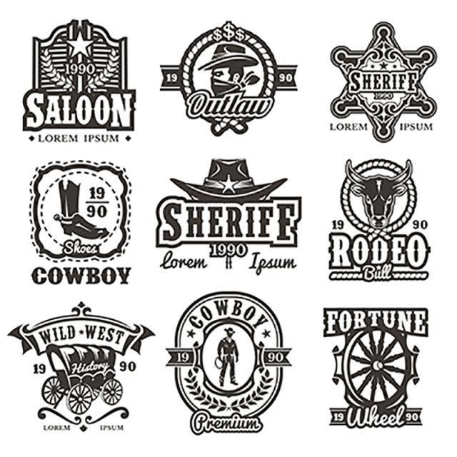 Pin By Elii Zamora On Printables Yay Logo Design Free Templates Western Logo Logo Design Free