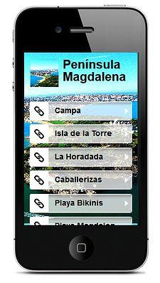 """APADRINA UN MONUMENTO """"LA PENÍNSULA DE LA MAGDALENA - GUÍA VISUAL Y AUMENTADA"""" El proyecto de """"Apadrina un monumento"""" es un proyecto en el que un grupo de 6º de Primaria desarrolló una página web, una app para móviles, una aplicación de geolocalización y un libro aumentado sobre uno de los lugares más significativos de Santander, la península de la Magdalena."""
