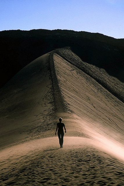 Dune at Valley of the Moon, Atacama, Chile