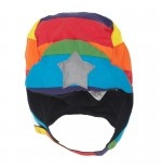 Rainbow Trapper #Hat  £24
