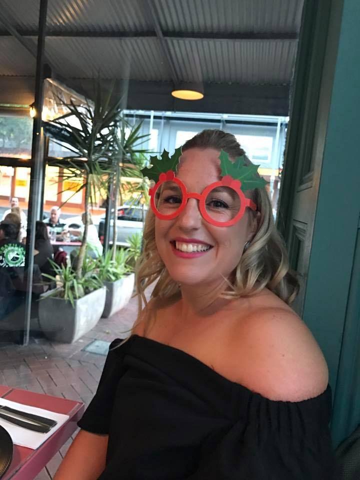 Kristy at the Christmas Party! #j9etc #marketing #graphicdesign #socialmedia #socialmediamanager #socialmediamanagement #logodesign #webdesign #cataloguedesign #retailmarketing #sa #southaustralia #adelaide #australia #yellow