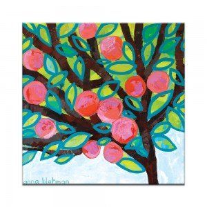 Red Apple Canvas