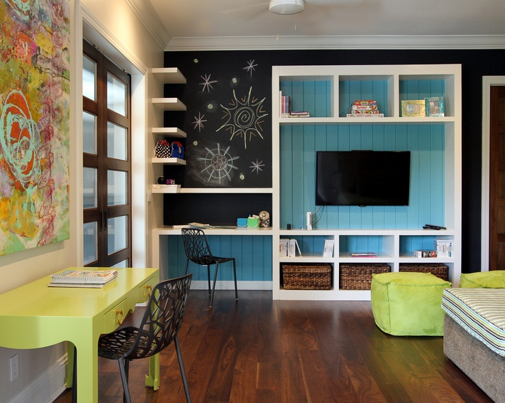 Great Kids Oasis Playroom Idea Pops Of Bright Colors