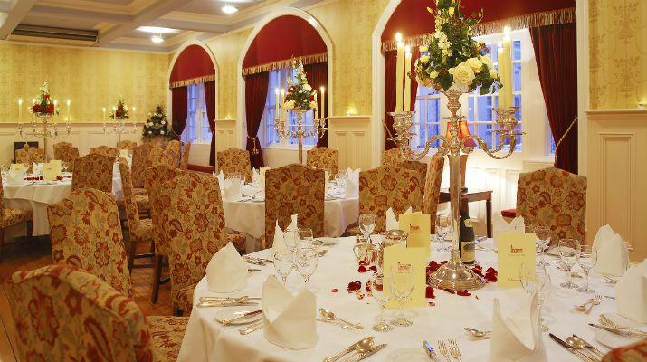The ballroom of the 4* Killashee Hotel, Co. Kildare