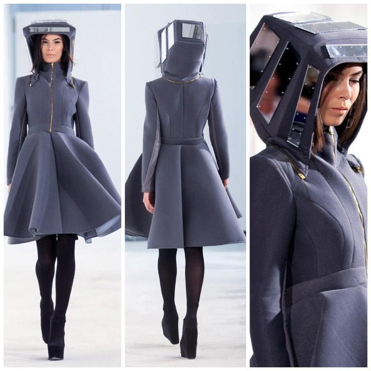 Grey coat @ FE[MALE]