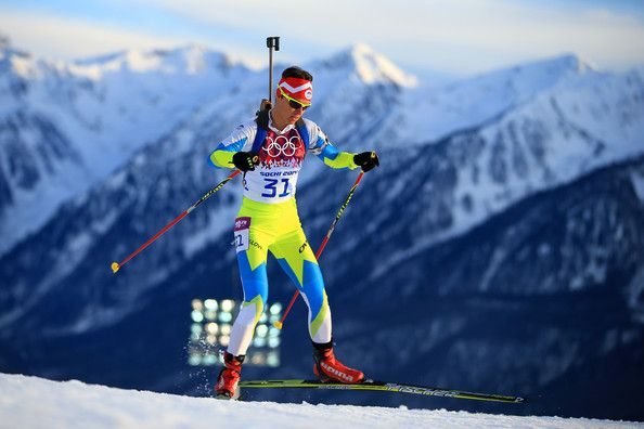 Teja Gregorin - Winter Olympics: Biathlon