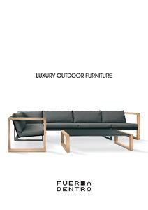 FueraDentro Catalogue - FueraDentro Luxury Outdoor Furniture