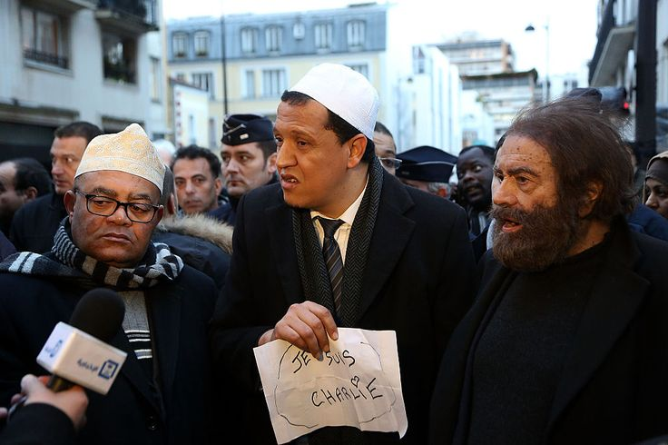 Hero Imams More than 60 Islamic leaders and imams -- from France, Belgium, Britain, Tunisia, and of different Islamic faiths -- in a move that may be unprecedented, are touring Europe to denounce Islamic terrorism and to pay homage to the victims of terror in Europe by visiting many of the sites of terror attacks.