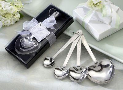 Wedding  Love Beyond Measure Heart-Shaped Measuring Spoons