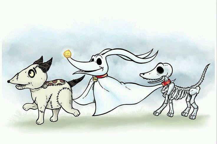Tim Burton dogs ❤️