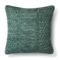 Threshold™ Cable Knit Throw Pillow : Target