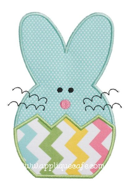 Bunny 5 Applique Design