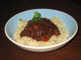 Me and my shadow: Slow Cooker Sweet Aromatic Lamb Tagine