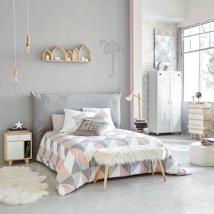 Semainier vintage en bois de paulownia blanc L 65 cm Spring | Maisons du Monde