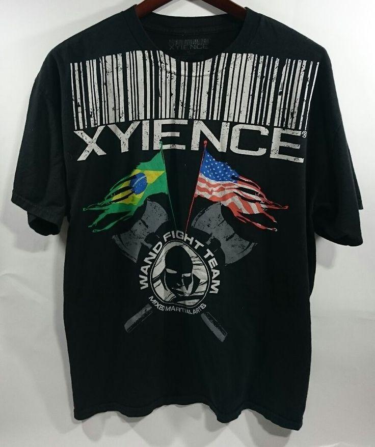Mens Xyience Wanderlei Silva Wand Fight Team Brazil Shirt Black XL Rare HTF MMA   Sporting Goods, Boxing, Martial Arts & MMA, Clothing, Shoes & Accessories   eBay!