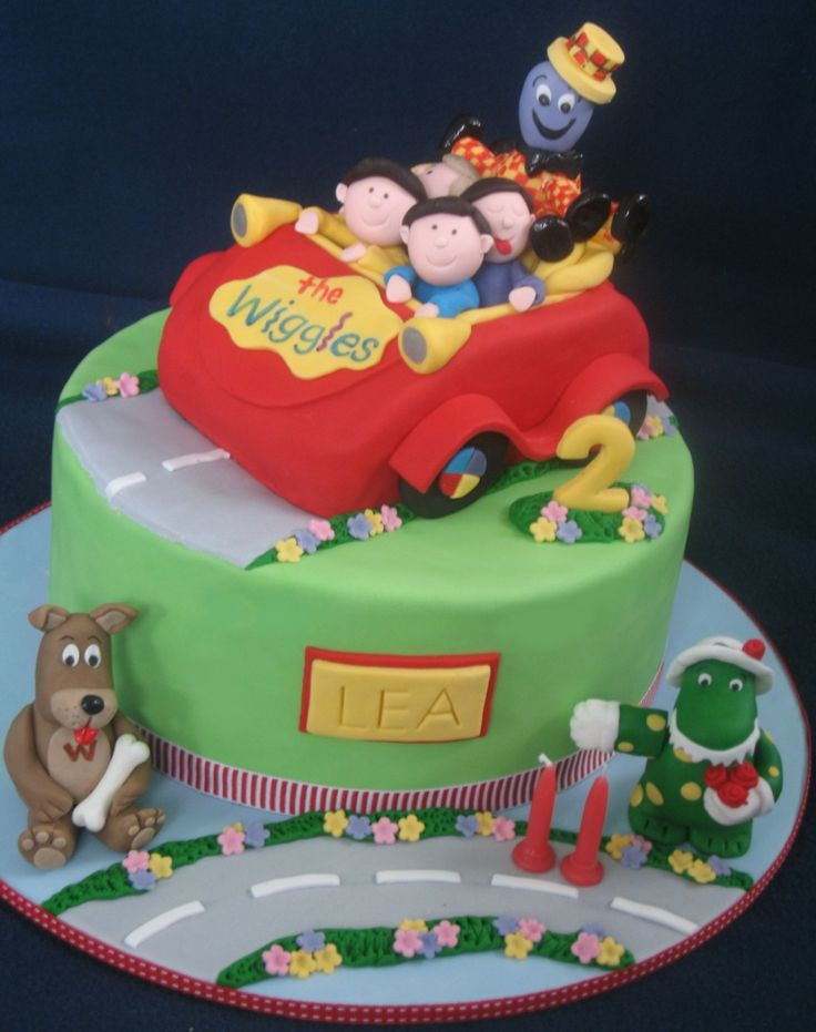 wiggles birthday cake - Google Search
