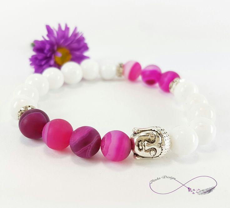 Gamestone, bracelet, agate, buddha