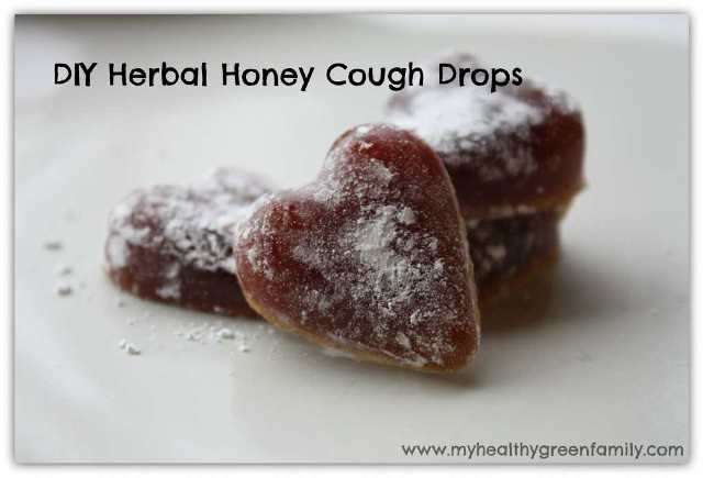 How to Make Herbal Honey Cough Drops