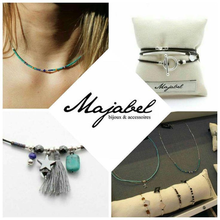 """BIJOUX DE CRÉATEURS - Découvrez la marque """"Majabel"""", exposée au Comptoir à perles et qui met à l'honneur les matériaux nobles dans des créations intemporelles: argent, plaqué or, cuir, pierres fines... et le tout fait main et à des prix très abordables! #Majabel #bijouxdecreateurs #bijoux #jewels #instajewels #jewelslovers #argent #or #turquoise #lecomptoiraperles #perles #faitmain #handmade #handmadejewelry #beads #silver #gold #blue # creation #creativity #créativité #bijouxfemmes #cuir…"""