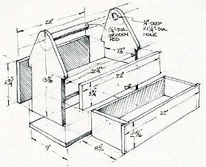 DIY Woodworking Ideas How to Build a Toolbox: Simple DIY Woodworking Project