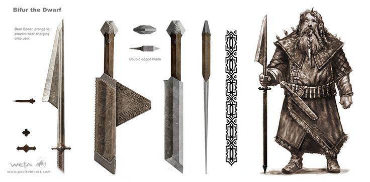 The Hobbit Dwarven Weapons