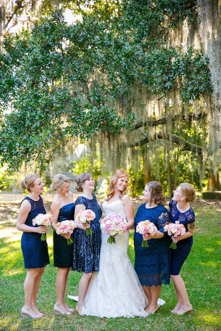 732 best bridesmaid dresses images on pinterest newport babies mismatched navy bridesmaid dresses ombrellifo Choice Image