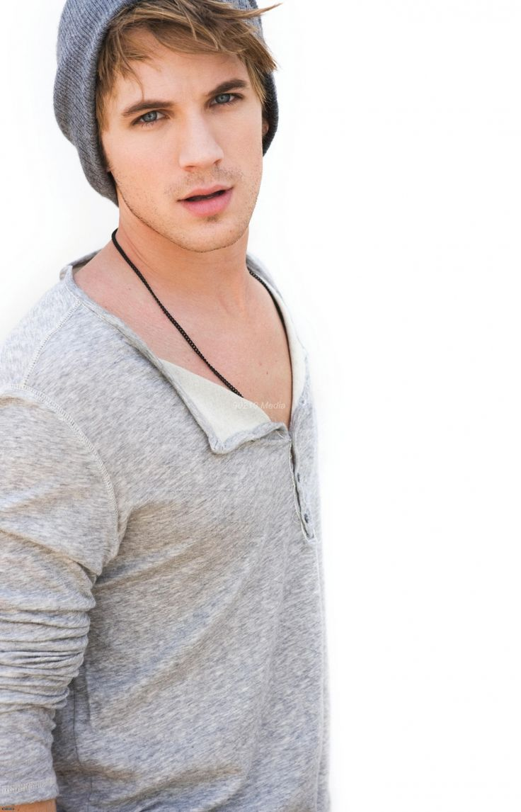 Matt Lanter. I have no idea who you are, but you are really pretty. And cuddly-looking.