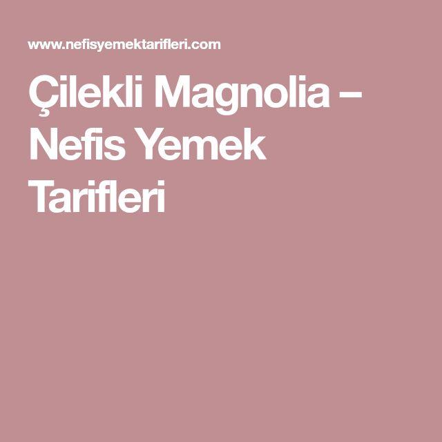 Çilekli Magnolia – Nefis Yemek Tarifleri