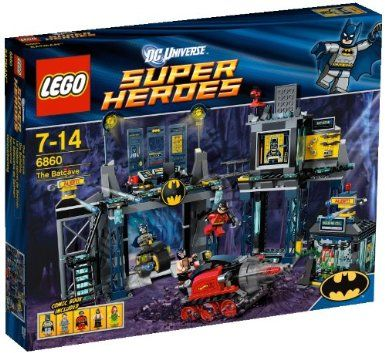 LEGO Super Heroes 6860: The Batcave: Amazon.co.uk: Toys & Games