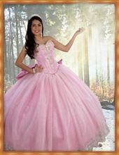 Roze sweet 16 jurken sweetheart zilverkleurige kristallen kralen jurken 2017 terug met grote boog kant sweet 16 baljurken(China (Mainland))