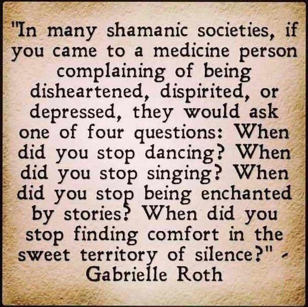 Visit a Shaman och get my animalname.