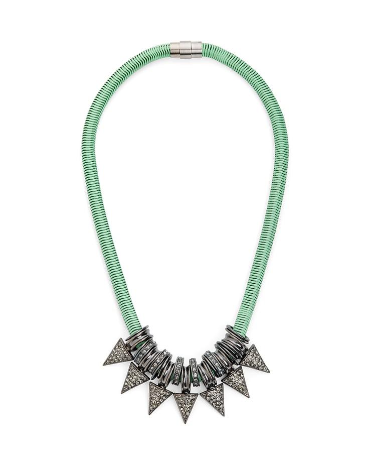 Mint Spike Necklace