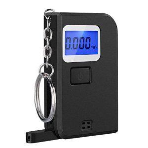 VicTsing Éthylotest Numérique Portale Mini Alcootest Porte-Clés Semi-conducteur avec Écran LCD (5 Embouts inclus): Cet alcootest sera utile…
