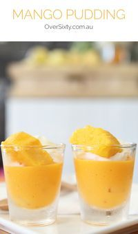 Mango Pudding - For a refreshing, delicious dessert with a twist, try this easy, Chinese-inspired mango pudding.