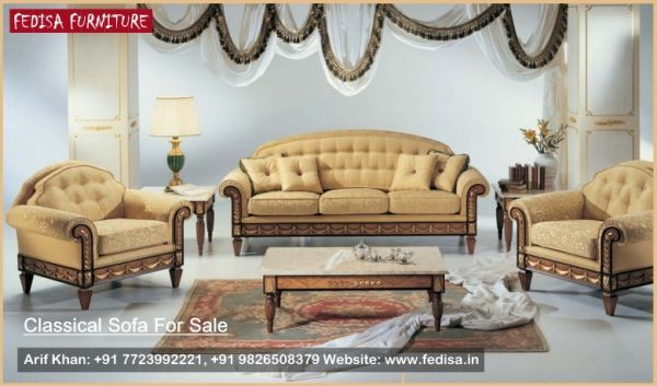 Usa Leather Furniture, Classic Sofa Set, Traditional Sofa ...