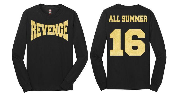 Revenge All Summer Sixteen Long Sleeve Drake Tour Summer 16 T shirt tee long sleeve