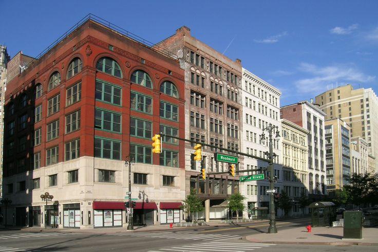 Woodward,Detroit MI