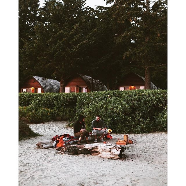 Spending quality time on Mackenzie Beach, located at the northern edge of Pacific Rim National Park in Tofino. Photo taken at Ocean Village Resort by @xshaydx via Instagram. #exploreBC #exploreCanada