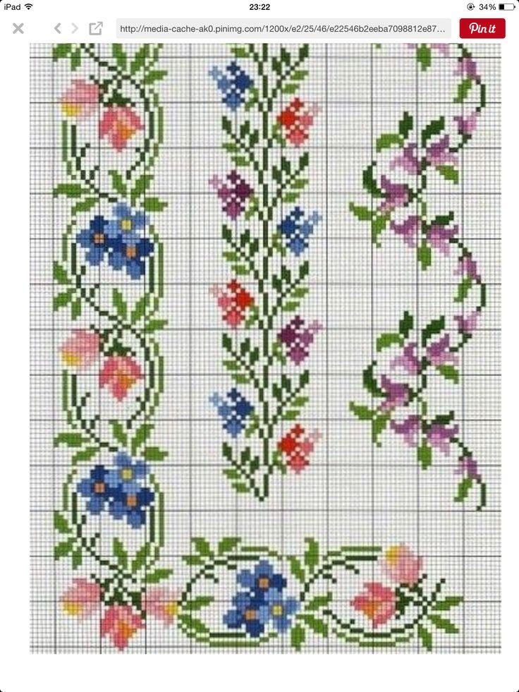 Images about İşleme on pinterest floral border just