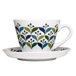 Sagaform Stoneware Retro Tea Cup