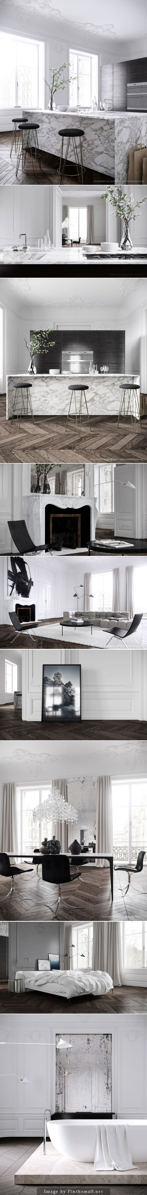 Parisian Apartment by Jessica Vedel