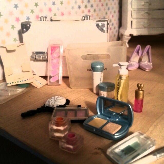 Make up :) re-ment miniatures